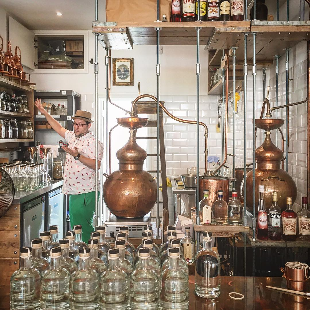 Learn how to become a Distiller - full day shadowing