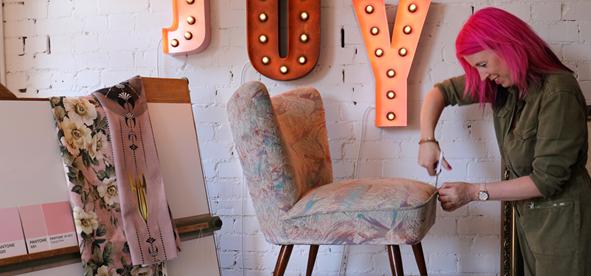 Succeeding as an upholsterer